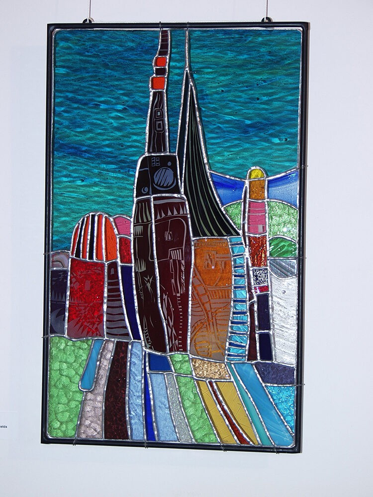 high_rise_stained_glass_exhibition_piece